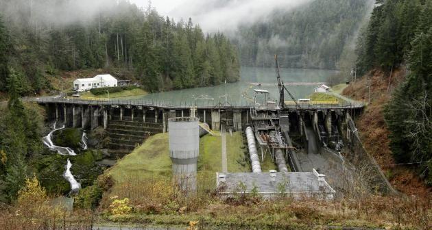 river Elwha dam