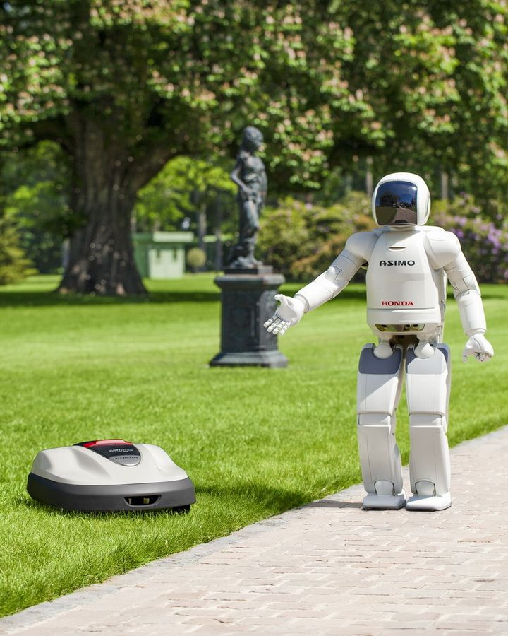 Honda Miimo and Asimo