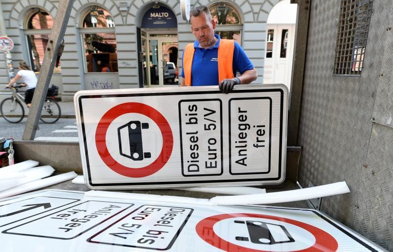 Гамбург - первый немецкий город который запретил дизельные автомобили