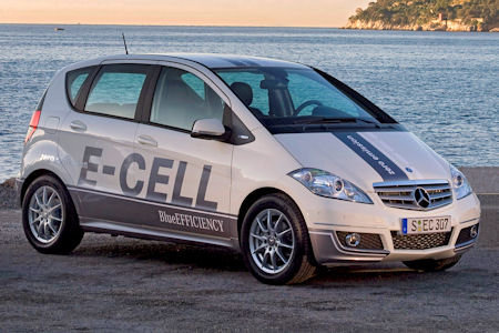 Mercedes-Benz A-klass E-Cell