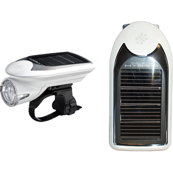 Cateye HL-EL020 Hybrid Solar Light