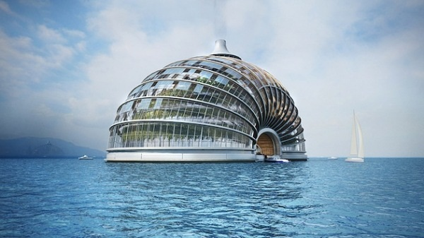 The Ark Floating Housing - плавающий отель от Remistudio
